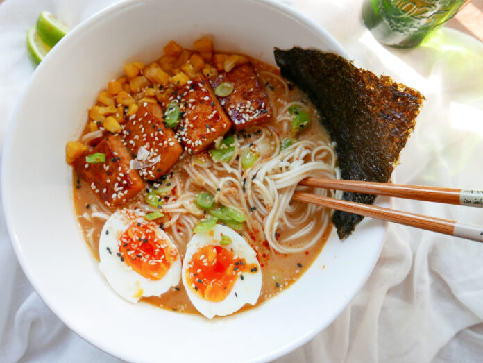 Miso and Tahini Ramen
