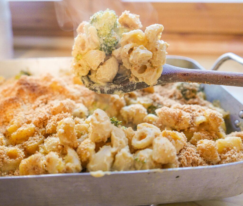 Vegan Broccoli Mac & Cheese