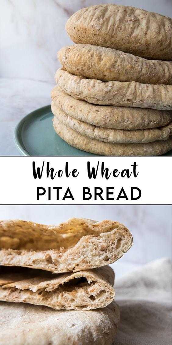 Pita bread pin