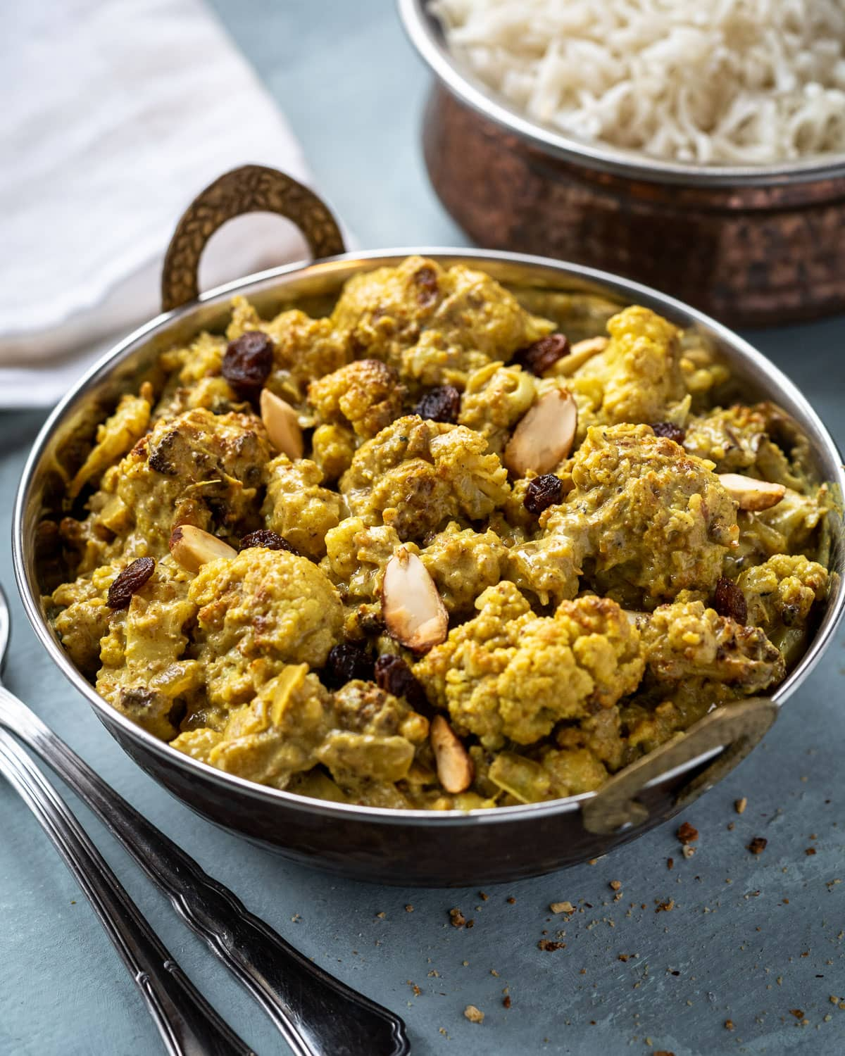 vegan cauliflower korma