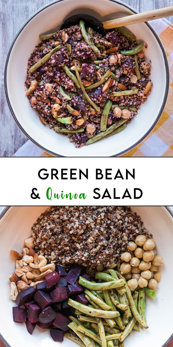 Greenbean and Quinoa Salad