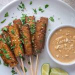 Tofu Satay with Peanut Sauce