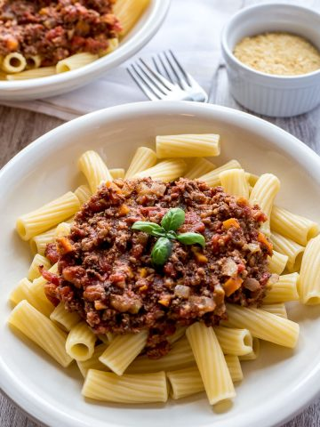 Vegan Cauliflower and Walnut Bolognese