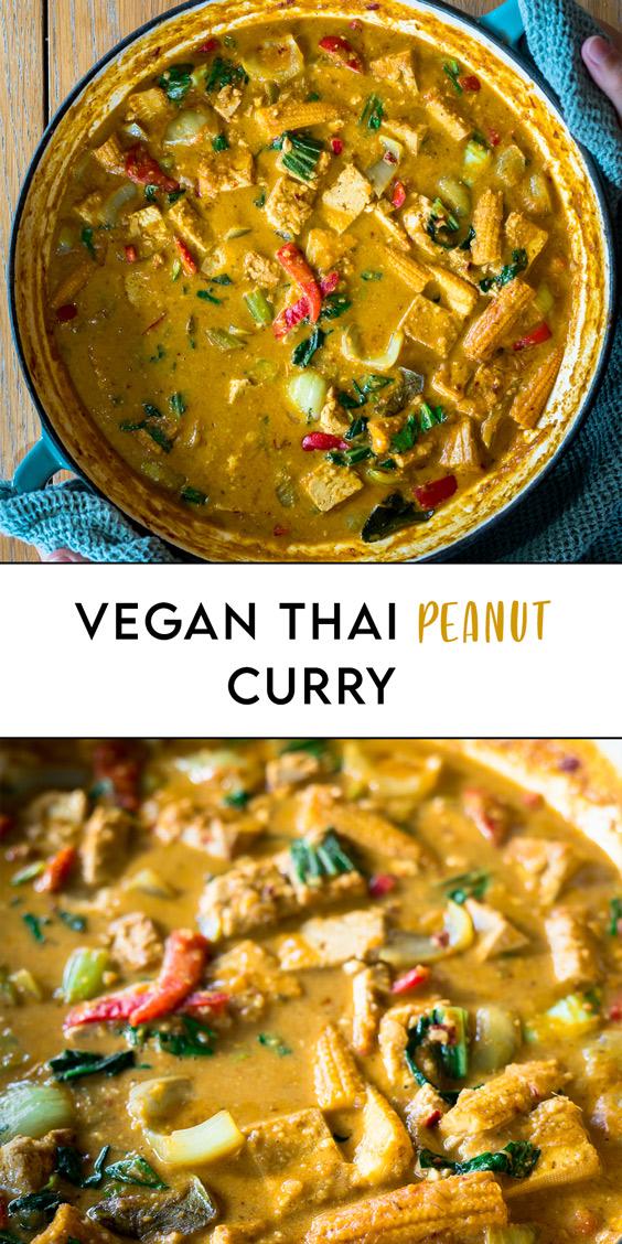Thai Vegan Peanut Curry