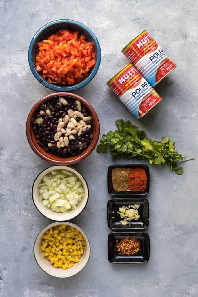 Chili Sin Carne Vegán