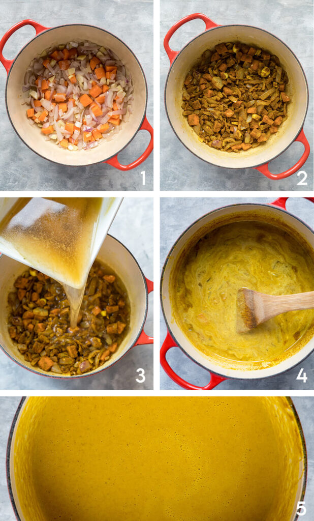 Katsu-Curry-karfiol-kuglófokkal