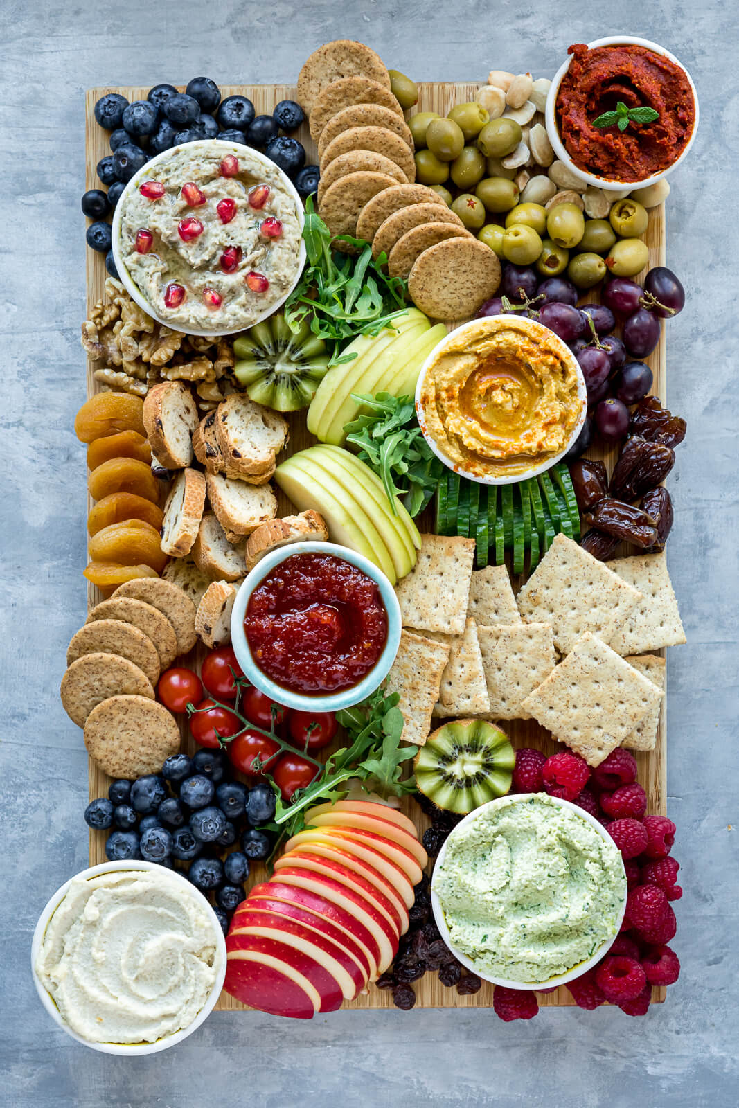 Vegan Christmas Charcuterie Board
