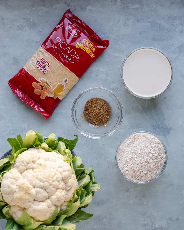 Asian-Style Orange Cauliflower Ingredients