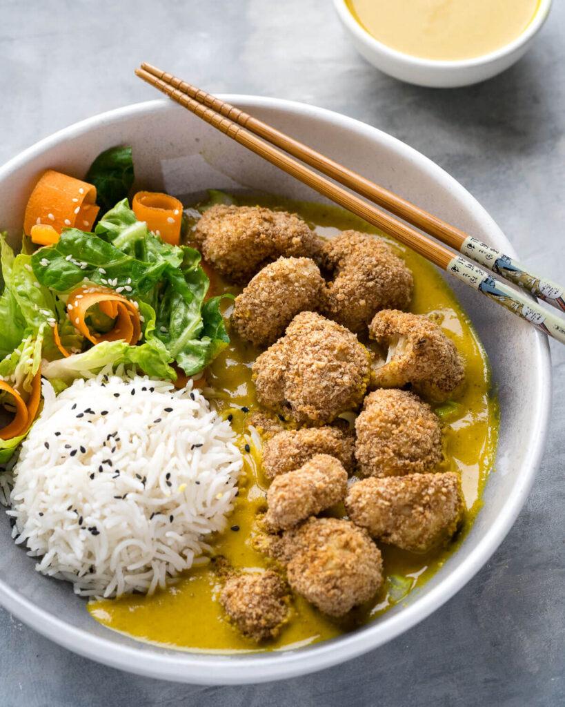Katsu-Curry-with-Cauliflower-Nuggets