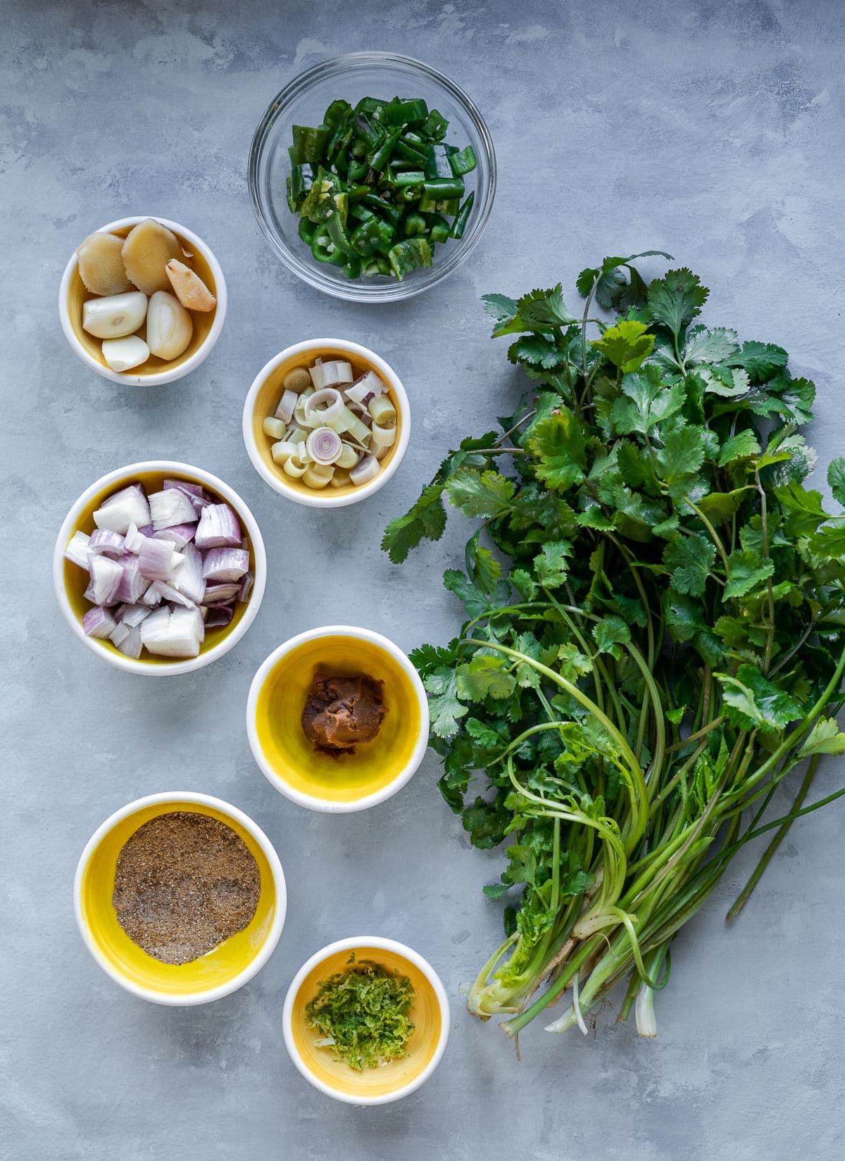 Thai Green Curry with Tofu
