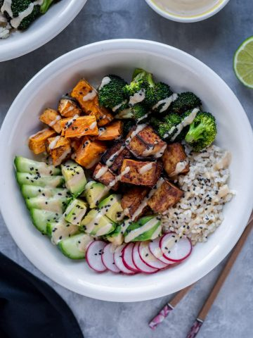 Vegan Buddha Bowl with Tofu