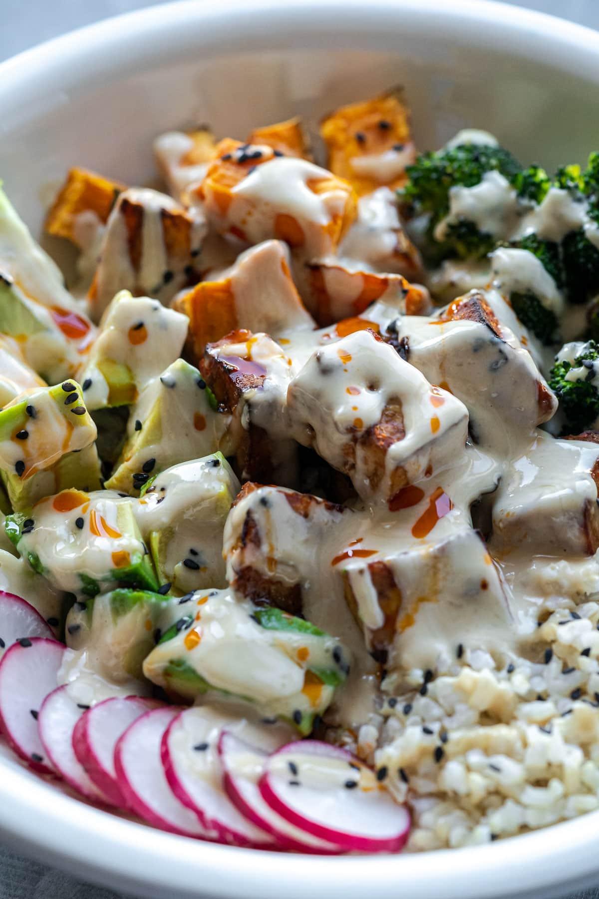 Vegan Buddha Bowl with Tofu