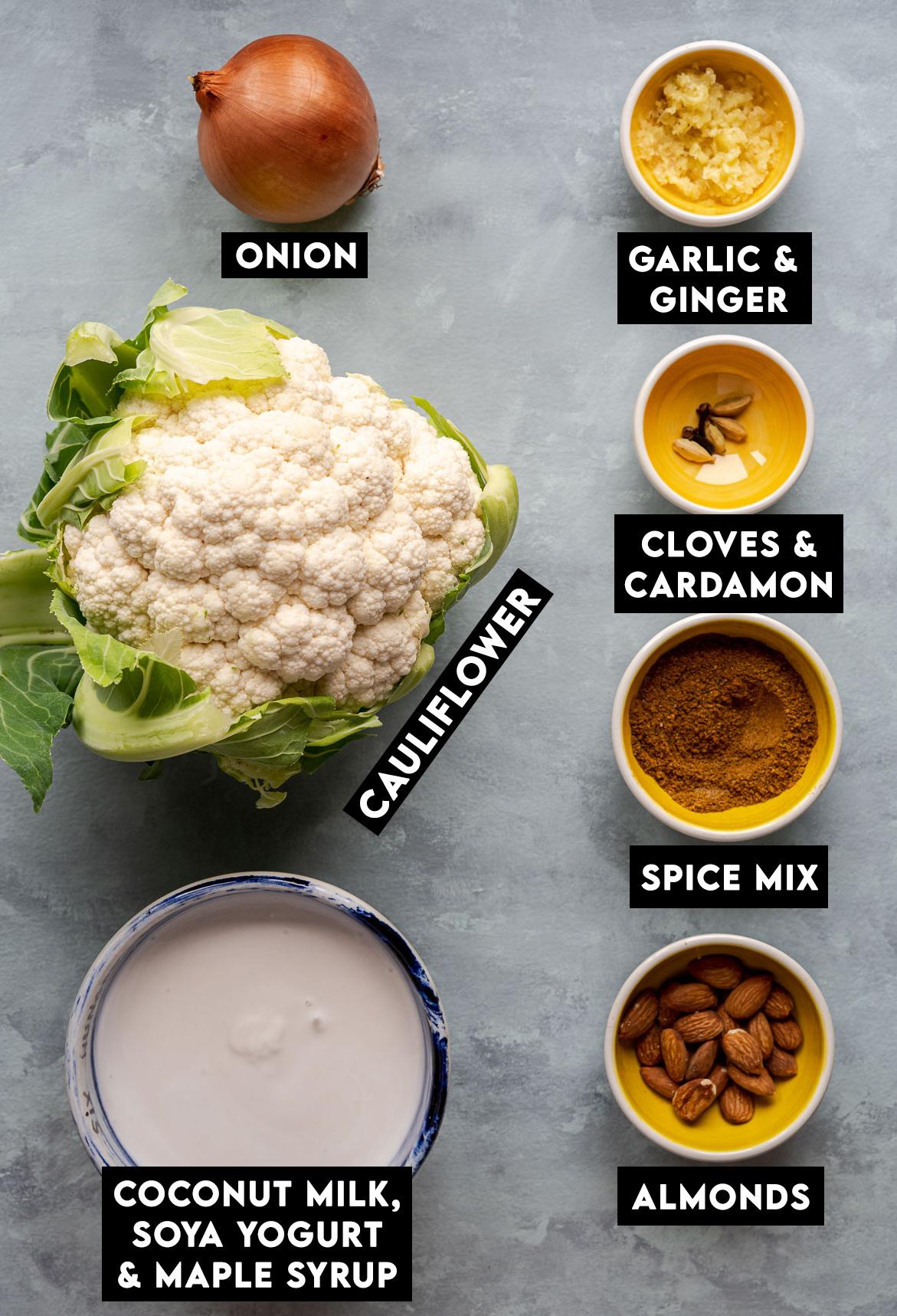 Vegan Cauliflower Korma