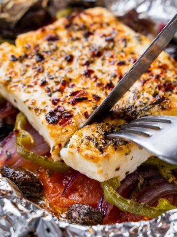 Spicy Baked Feta