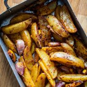 Lemon and Rosemary Potato Wedges