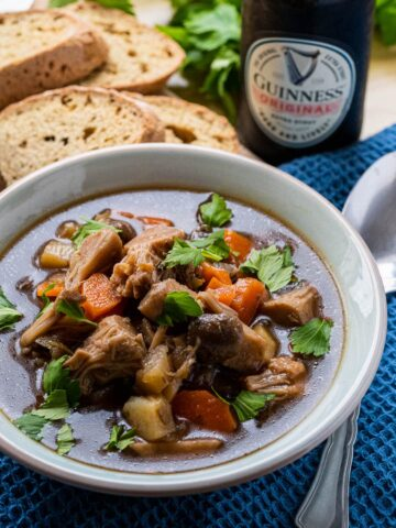 Vegan Irish Stew with Guinness