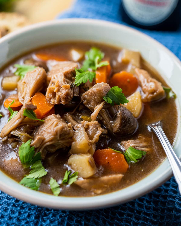 Vegan Irish Stew with Guinness
