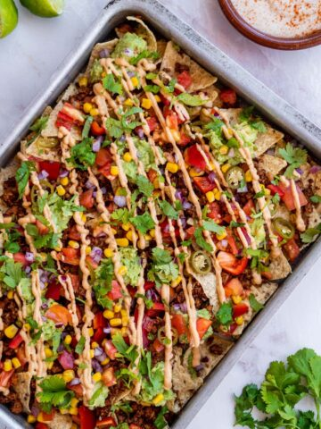 Loaded Vegan Nachos