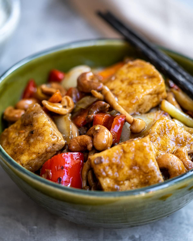 Tofu Stir Fry with Cashews